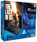 Sony PlayStation 3 Console 500GB Super Slim + 1 Wireless Dualshock 3 Controller + Gran Turismo 6 + The Last Of Us - Zwart PS3 Bundel