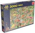 Jan van Haasteren Midget Golf - Puzzel 3000 stukjes