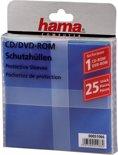 Hama 04751066 Cd / Dvd-hoesjes - 25 stuks