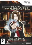 OG International Cate West: The Vanishing Files (Nintendo Wii)
