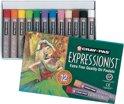 SAKURA Cray-Pas Expressionist | Oliepastel (12 kleuren)