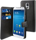 muvit Samsung Galaxy S5 Mini Wallet case with 3 cardslots Black
