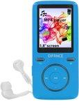 Difrnce MP1805 - MP4 speler - 8 GB - Blauw