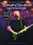 David Gilmour - Remember That Night Live At The Royal Albert Hall