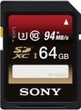 Sony SF64UX2 Expert SD kaart 64 GB