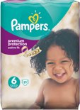Pampers Active Fit Mid Pack Maat 6 - 21 stuks