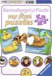 Ravensburger Lieve dieren - My First puzzles (9x2 stukjes)