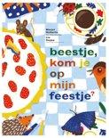 Marjet Huiberts boek Beestje, kom je op mijn feestje ? Hardcover 9,2E+15