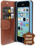 Valenta Booklet Classic Luxe iPhone 5c - Brown