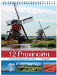 12 provincien weeknotitie kalender