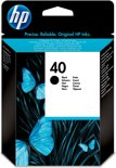 HP 40 - Inktcartridge / Zwart (51640A)