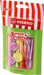 STABILO Pen 68 Mini Sweet Colors - Etui 15 kleuren