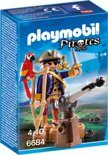 Playmobil Piratenkapitein Eénoog - 6684