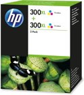 HP 300XL - Inktcartridge / Kleur / 2 Pack