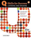 Q: Skills for Success- Listening and Speaking 5 student book + online practice