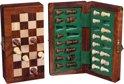 Longfield Games Schaakset 6,35 x 12,5 cm - Magnetisch/Opklapbaar