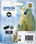 Epson 26XL T2631 - Inktcartridge / Foto Zwart / Hoge Capaciteit