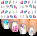 Nail art stickers Veren 13 vellen