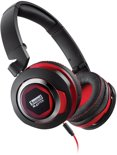Sound Blaster EVO USB - Over-ear koptelefoon - Zwart/Rood