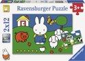 Ravensburger nijntje bij de dieren - Twee puzzels van 12 stukjes