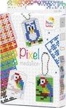 Pixel   Medaillon Set   3 medaillons