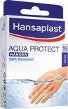 Hansaplast Aqua Protect Speciaal Voor Handen - 16 stuks - Pleisters