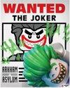 Lego Batman Mini Poster Wanted The Joker