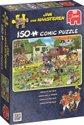 Jan van Haasteren Chaos op het veld - Puzzel 150 Stukjes