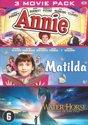 3 Movie Pack: Annie + Mathilda + The Water Horse