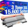 Tito-Express PlatinumSerie 3 toner mega XXL PlatinumSerie zwart voor brother TN-2010 5.200 pagina's compatibel HL-2130 / HL-2132 / HL-2135W / DCP-7055 / DCP-7055W / DCP-7059