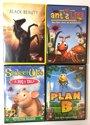 DVD Set - 4 Stuks - Spider's Web, Plan B, Black Beauty, Ant'sLife,