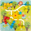 Afbeelding van het spelletje Small Foot Houten Labyrint Puzzel 29 Cm