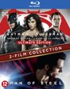 Batman v Superman - Dawn of justice + Man of steel (Blu-ray)