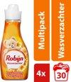 Robijn Passiebloem wasverzachter - 120 wasbeurten - 4 x 750 ml