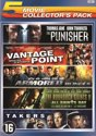 ARMORED / BOONDOCK SAINTS II, THE: ALL SAINTS DAY / PUNISHER, THE (2004) / TAKERS (2010) / VANTAGE POINT - 5 PACK
