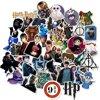 Harry Potter stickers - Mix met 50 afbeeldingen - Voor laptop, agenda, muur etc