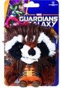 Marvel Guardians of The Galaxy Rocket Mini Pluchen Sleutelhanger met Geluid â?? 12x8x6cm | Bagclip Knuffeltje | Superhelden Speelgoed