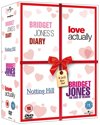 HUGH GRANT komedie box  - Bridget Jones 1&2 + Notting Hill + Love Actually