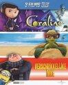 Coraline/ Sammy's Avonturen/ Verschrikkelijke Ikke (3D en 2D Blu-ray)
