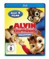 Alvin und die Chipmunks 1-4 Collection/4 Blu-ray
