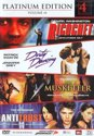Dirty Dancing / Ricochet / Musketeer / Antitrust (4DVD)