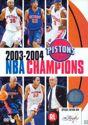 NBA Champions 2003-2004 - Detroit Pistons