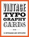 Afbeelding van het spelletje Vintage Typography Notecards
