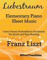 Liebestraum Elementary Piano Sheet Music