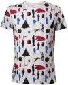 Star Wars gekleurd All Over print Shirt S