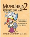 Afbeelding van het spelletje Munchkin 2 - Unnatural Axe - Uitbreiding - Engelstalig kaartspel