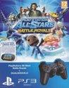 Sony PlayStation 3 Wireless Dualshock Contoller - Zwart PS3 + PlayStation Allstars Battle Royal