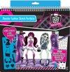 Monster High Fashion Sketch Portfolio
