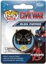 Funko Pop Pins! Captain America Civil War Black Panther