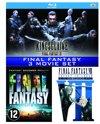 Final Fantasy VII: Advent Children / Final Fantasy: The Spirits Within / Kingsglaive: Final Fantasy XV ( Blu-ray)